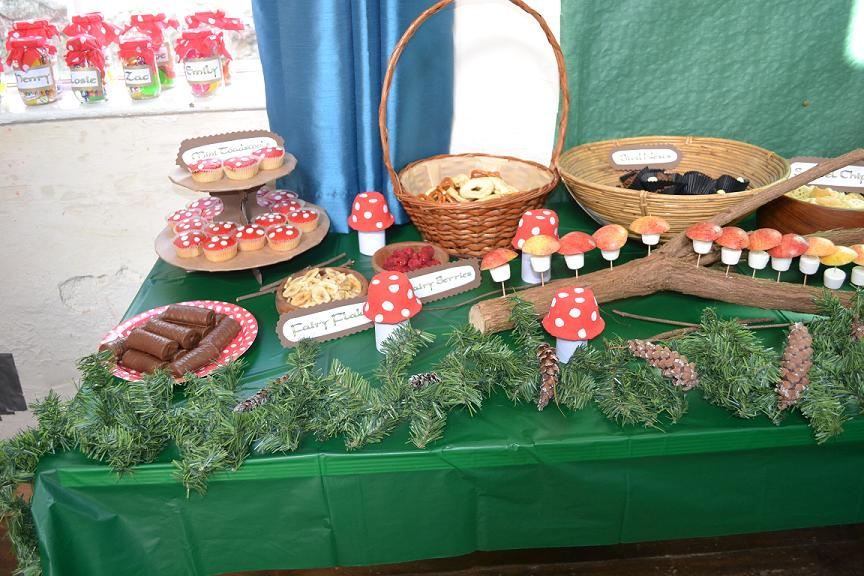 Enchanted Forest Party Food