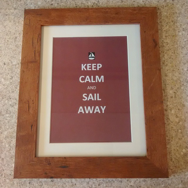 New print for the boat sailing boating