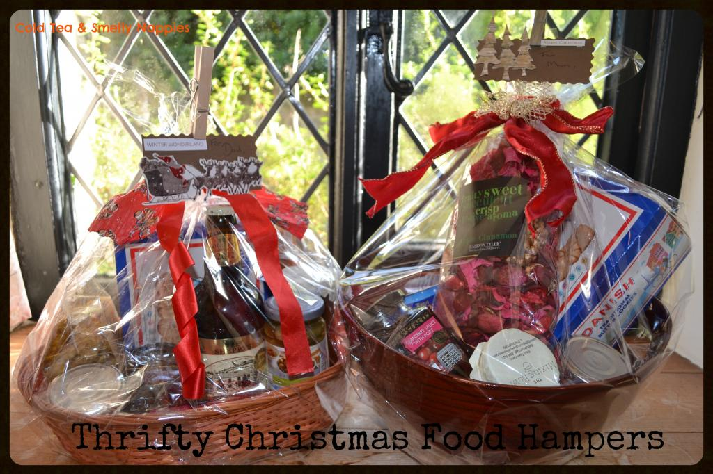 thrifty christmas food hampers