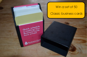 win 50 classic business cards
