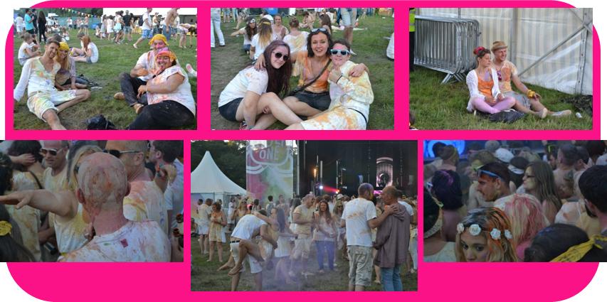 Holi One Colour Festival Plymouth1