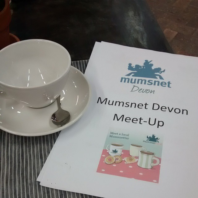 This is happening today #mumsnetdevon #mumsnet #mummymeetup