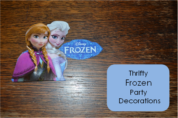 Thrifty Frozen Party Decorations