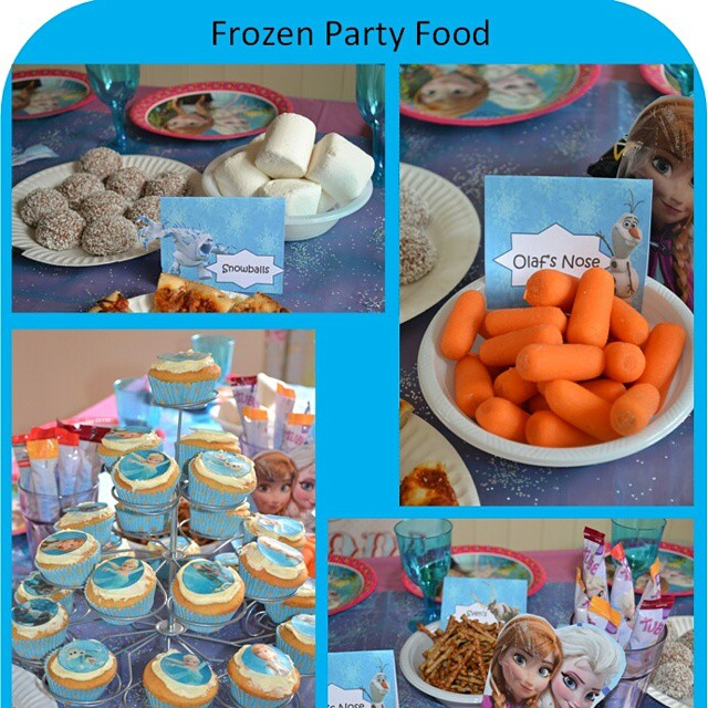 On the blog today... #FrozenParty #Frozen more pics in blog post