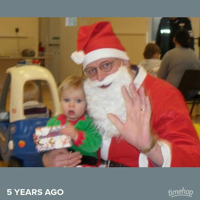 Exactly 5 years ago today!