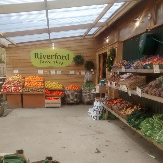Love a good #FarmShop #Riverford