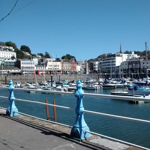 Beautiful day in Torquay yesterday Devon