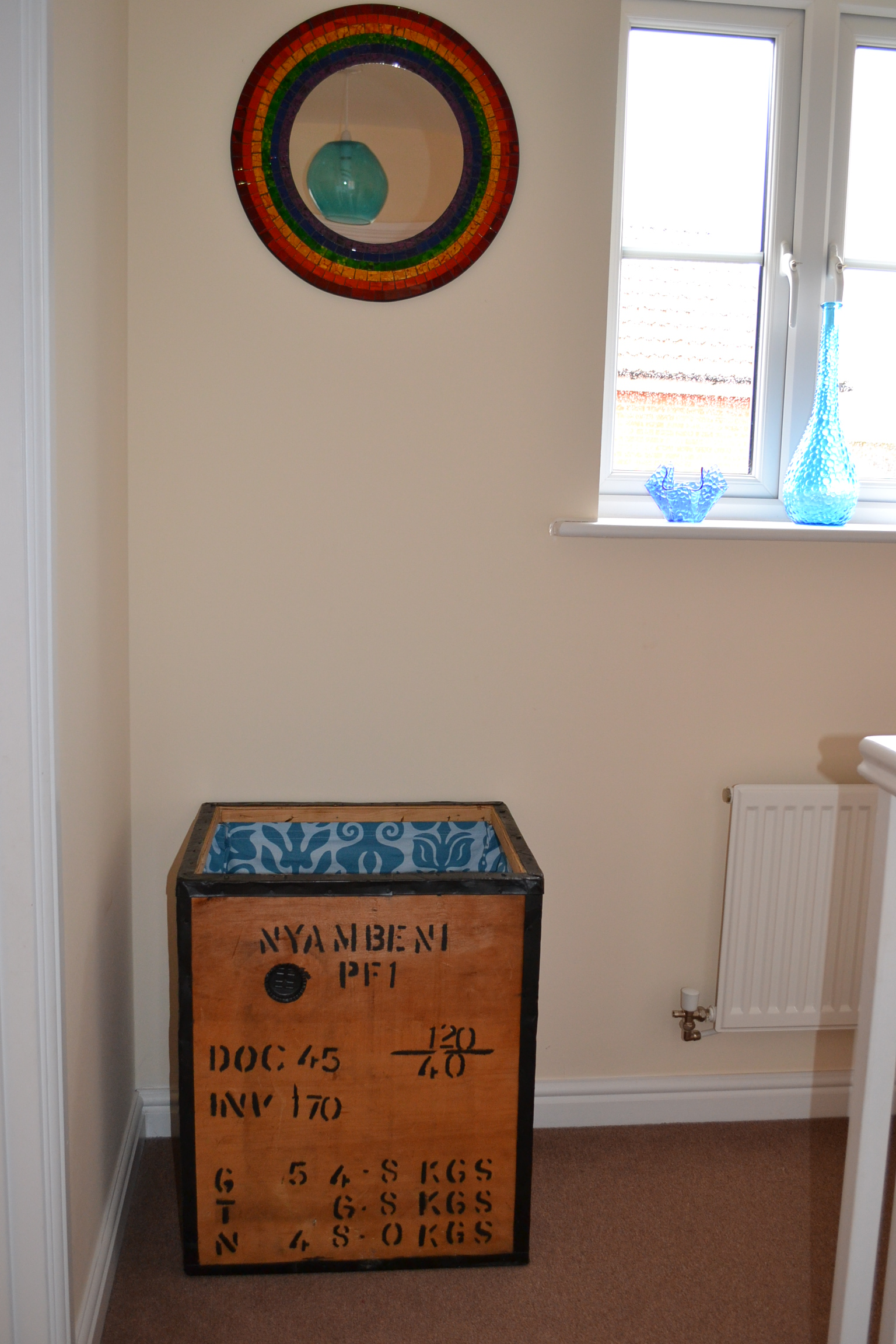Upcycling an old tea chest