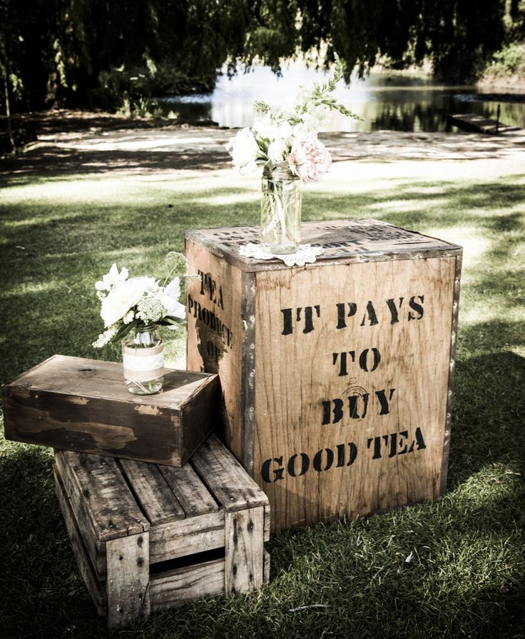 Up-cycled tea chest