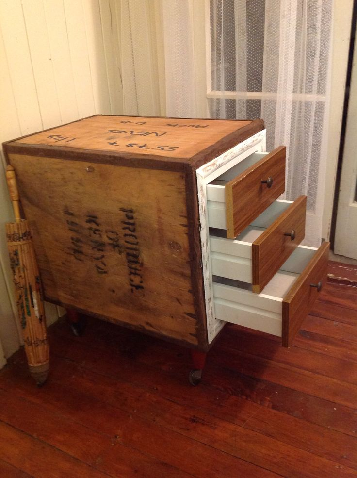 Upcycling Ideas For A Tea Chest Reduce Waste
