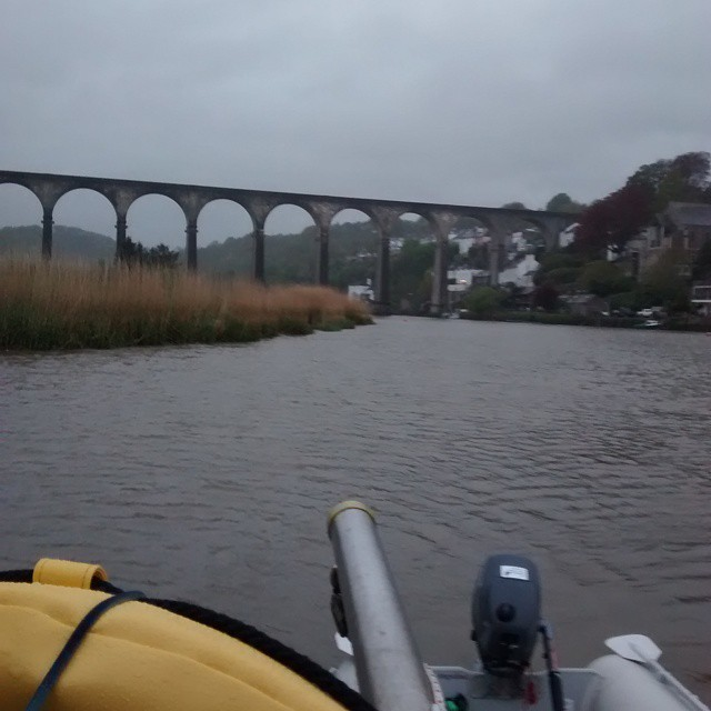 Our view boat boating Calstock
