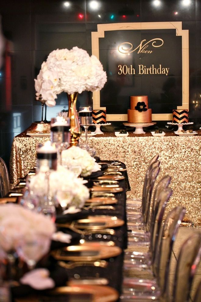1920s Gatsby Party Decorating Ideas