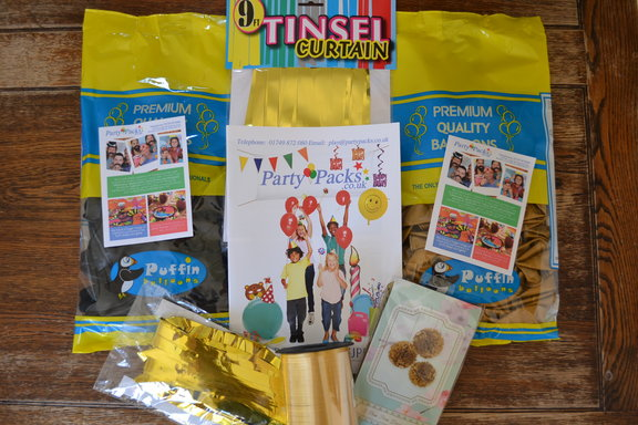 party packs gatsby party decor