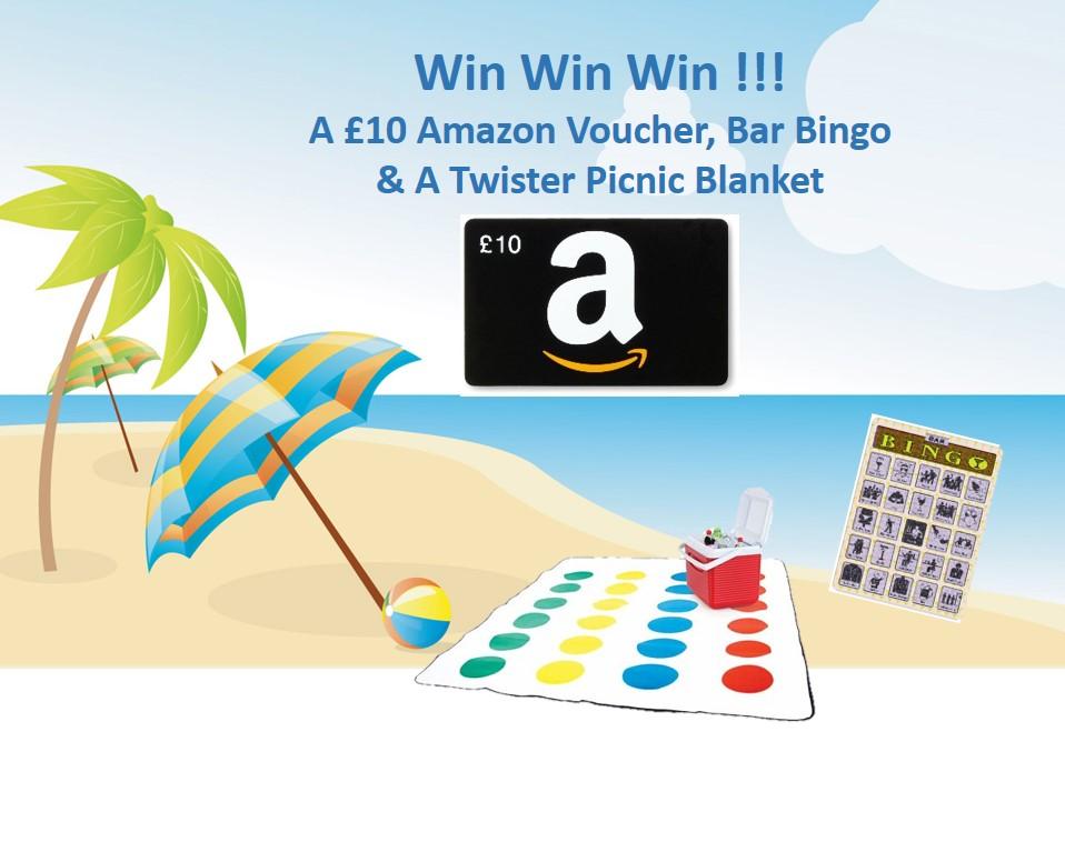 Beach Bingo Giveaway
