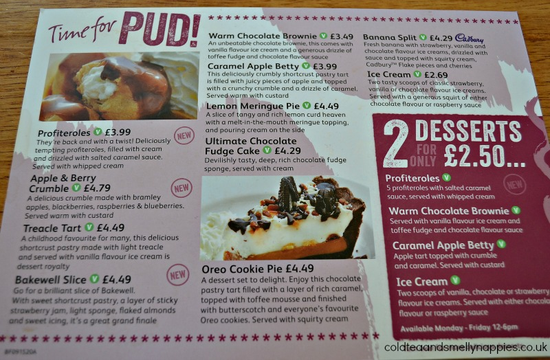 dessert-menu-brewers-fayre-review