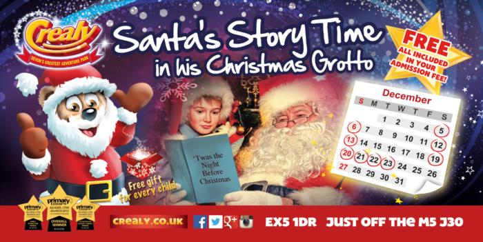 Santas-storytime-crealy-devon